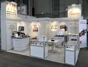Messestand von Lippold Sonderwerkzeugbau auf der NORTEC 2012