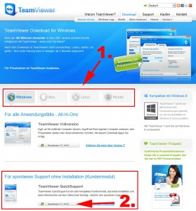 Teamviewer Download Screenshot